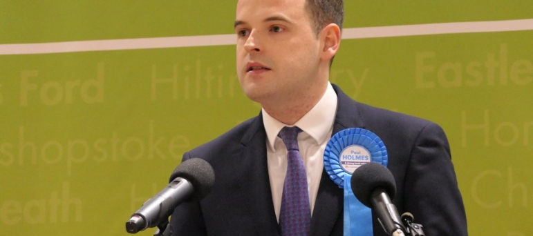 Paul Holmes on winning the Eastleigh election